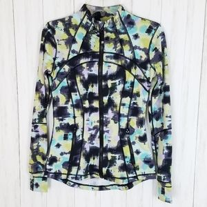Lululemon Define Athletic Jacket Graphic Print